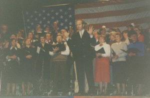 amestown Community Chorus - USO Show - March, 1995