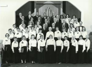 Jamestown Community Chorus - Spring 2000Photo by Rolf Knudsen