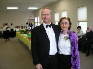 BJ Whitehouse and his wife, Christine Ariel