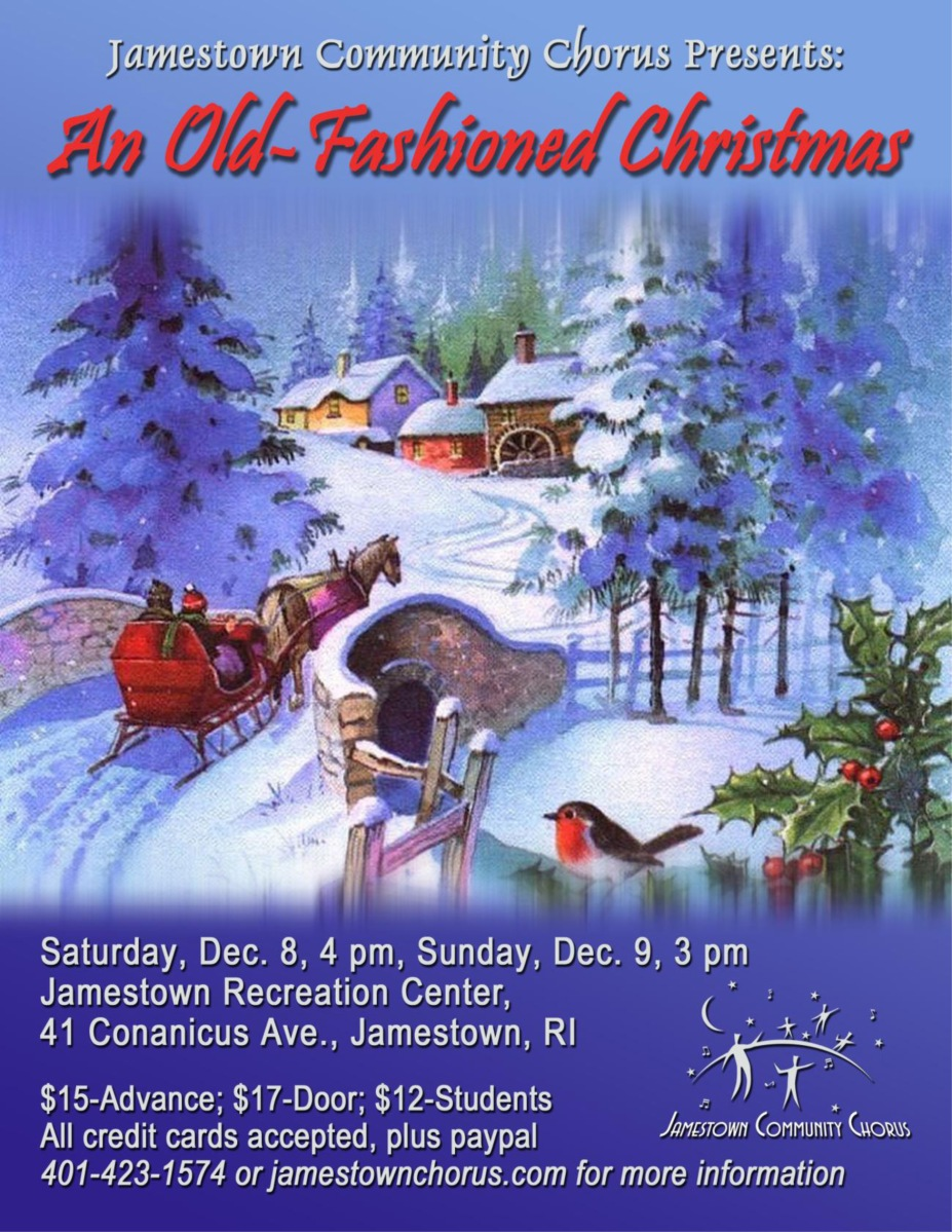 "An Old-Fashioned Christmas"" – THANKS!! | Jamestown RI Community Chorus"